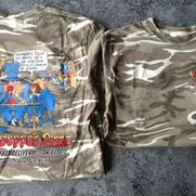 GIUSEPPE'S WANTED-CARTOON ARMY T-SHIRT